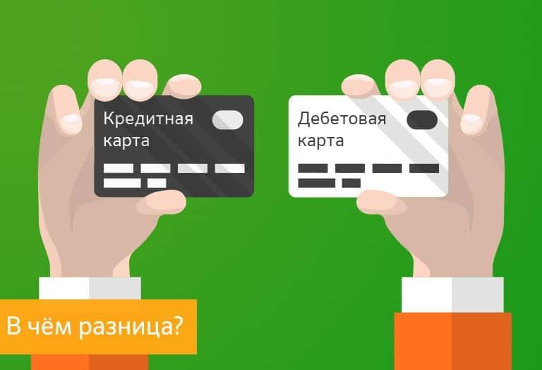 Разновидности банковских карт